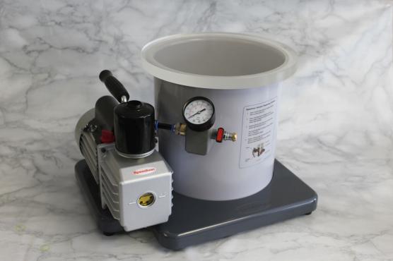 12 Litre Speedivac Complete Vacuum Degassing Chamber