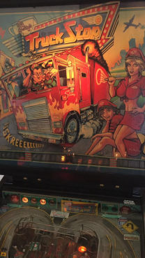 Truck Stop Pinball Machine by Bally