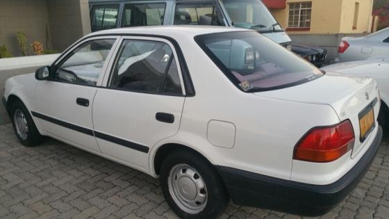 Toyota Corolla with aircon