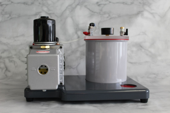 3 Litre Speedivac Complete Vacuum Degassing Chamber