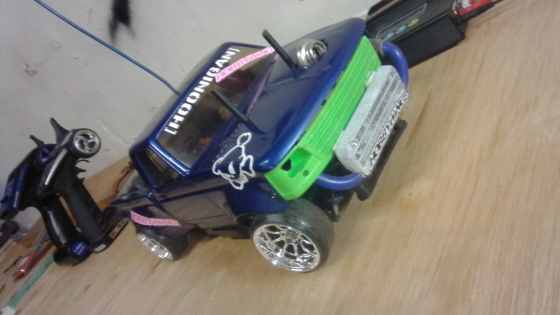 RC Tamiya TT02 drift