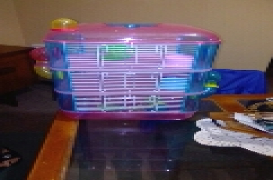 hamster cage to swap for fish tank