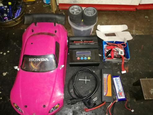 Brushless hpi drift car
