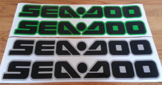 Seadoo PWC jetski decals stickers graphics kits