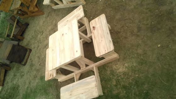 New wooden 4seater picnic benches for sale