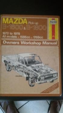 mazda b1600 b1800 workshop manual junk mail rh junkmail co za Mazda B2000 B16 Mazda