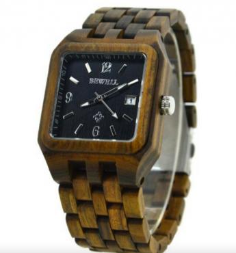 100% wooden watches