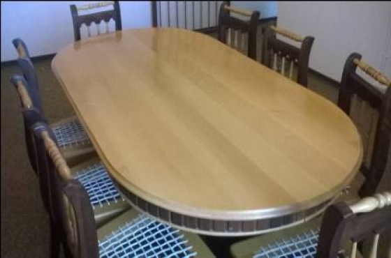 Eetkamerstel / diningroom set