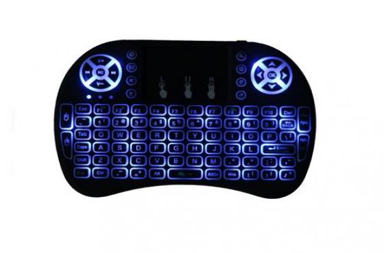 i8 mini wireless keyboard backlit