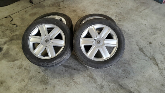Renault Mags 16inch – Set of 4 complete wheels – for sale