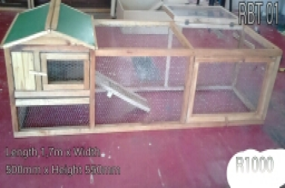 Rabbit cage maker