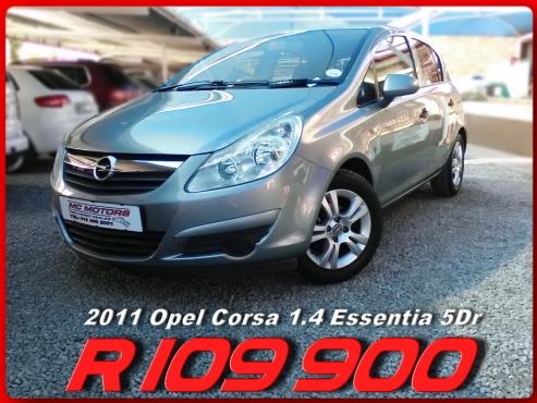 2011 Opel Corsa 1.4i Essentia 5Dr for sale