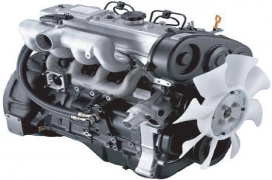 HYUNDAI H100 2.6 DIESEL ENGINE D4BB