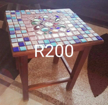 Small Mosaic Table