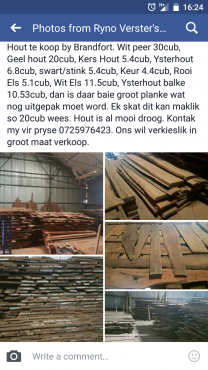 Meubel hout