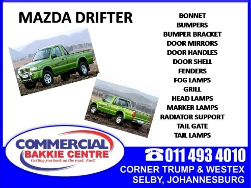 Mazda Drifter Replacement Parts Available Junk Mail