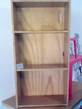 Wooden shelves for sale.