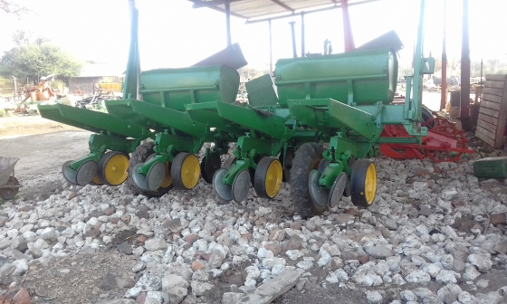 John Deere 7000 plaatloos Planter