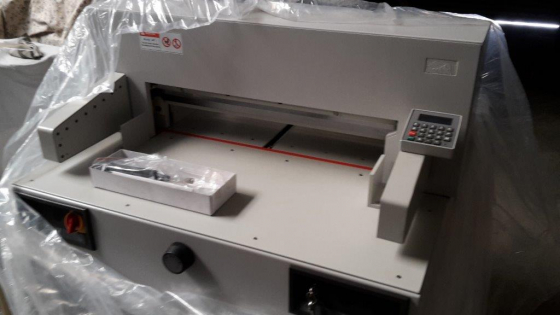 New A1 Paper guillotine 220V PF650EP full cutting programme