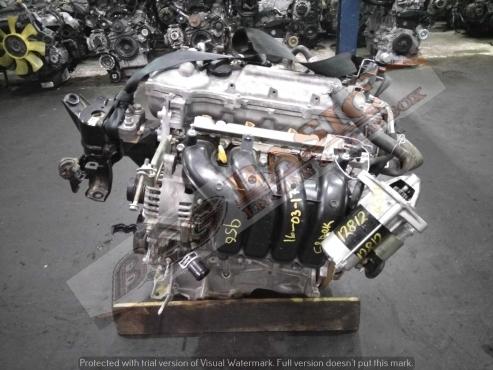 TOYOTA PROFESSIONAL - 1ZR 1.6L D/VVTI 16V Engine