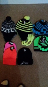 Winter hats for kids lots of them and in different colours Brand New