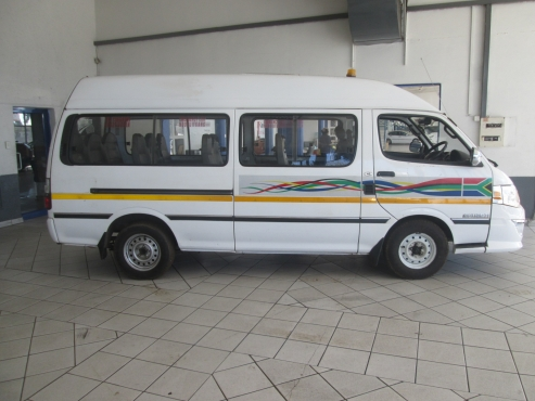 2011 Golden Journey IBUBEZI TAXI 2.2i