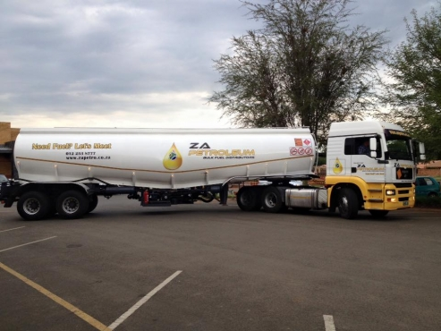 2007 MAN TGA26.480 with 1986 Tank Clinic Double axle Fuel Tanker