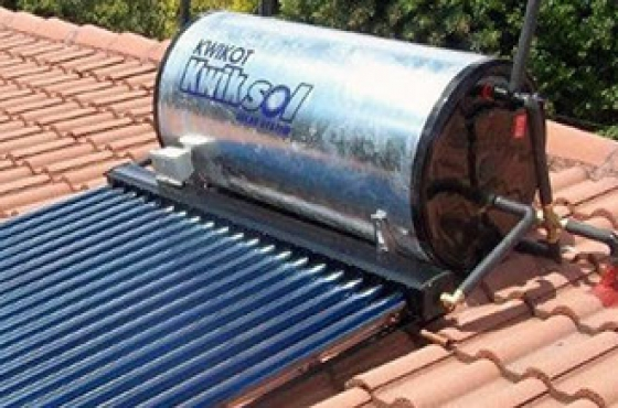 kwikot high pressure solar water geyser available from r9. Black Bedroom Furniture Sets. Home Design Ideas