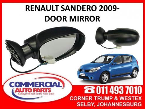 Renault Sandero 09- Door mirrors for sale