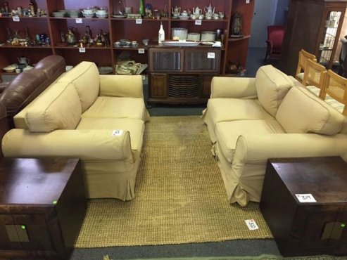 2 by 2seater coricraft couches for sale.