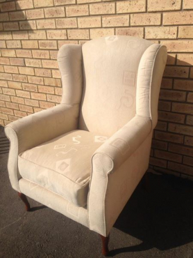 wingback chair for sale.