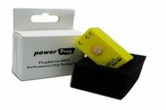 POWERPROG CHIP TUNING BOX -suitable for all vehicles from 1996 - 2017 with OBDII port