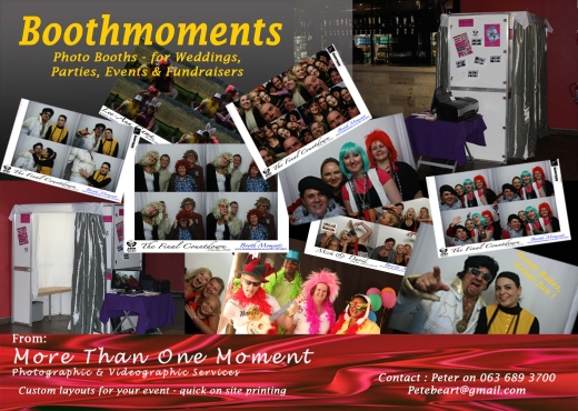 Photo and video Booths for Hire