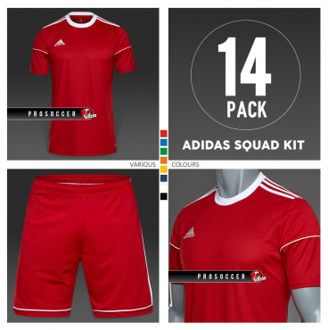 Adidas Squadra 17 Team Kit (14 Pack) 7