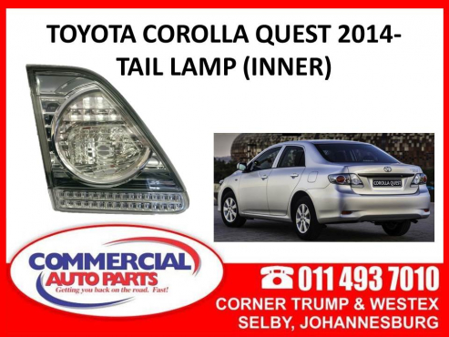Toyota Corolla Quest 2014- Tail lamp (inner)