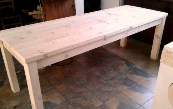 Lovely Rustic Patio Tables, made to order!