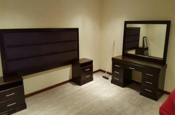 Solid wooden bedroom set