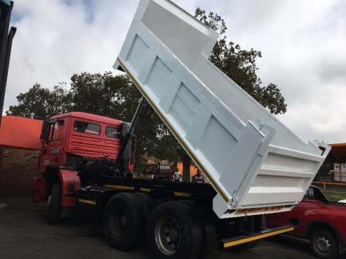 HYDRAULIC SYSTEM INSTALLATION FOR ALL TIP TRAILERS 0814843043