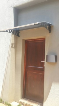 PC Awnings to protect your doors and windows!