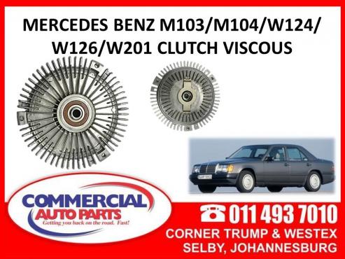 Mercedes Benz M103/M104/W124/W126/W201 Clutch Viscous | Junk Mail