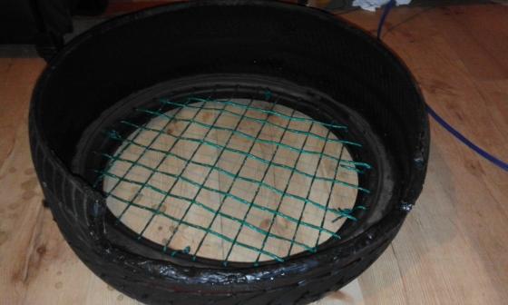 pet tire beds