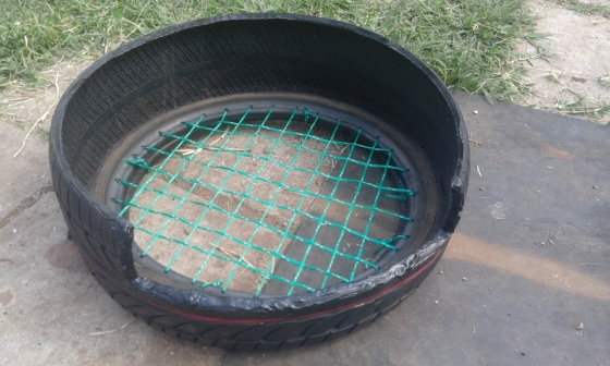 pet tire beds