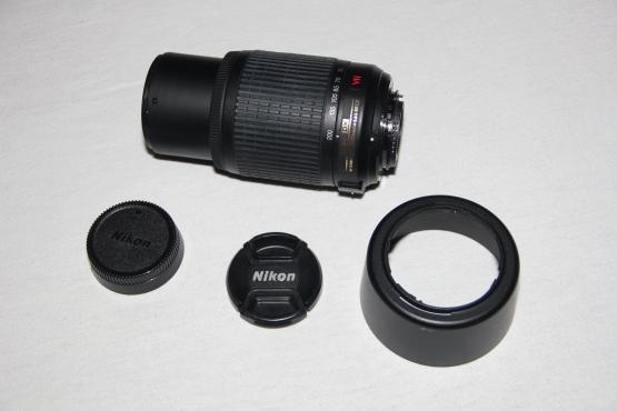 Nikon Nikkor 55-200mm SLR Camera lens, DX AF-S  1:4-5.6G ED VR