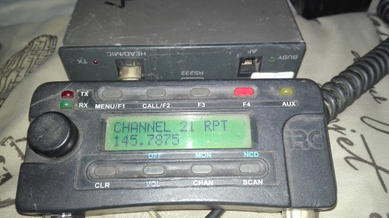 Irc VHF Mobile Radio.