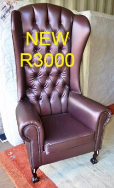 Leather Hiback Chair