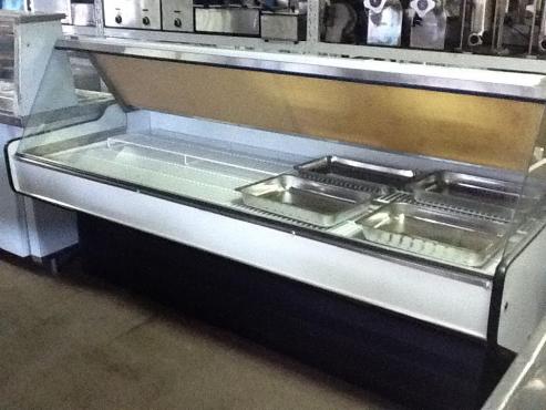 2.0m Econo Flat Glass Meat Display Fridge