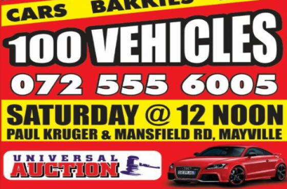 Auctions every Saturday