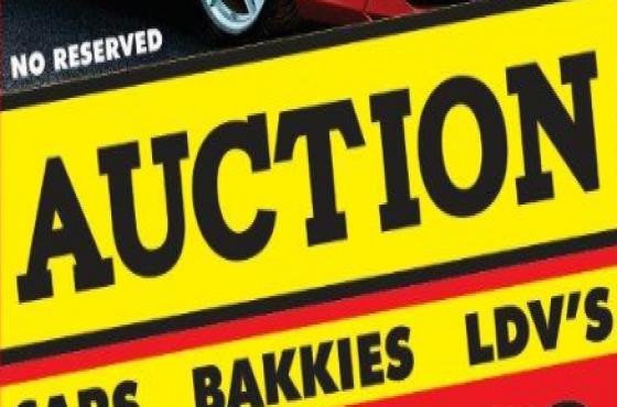 Auctions - over 50 Cars, Bakkies, 4x4's etc