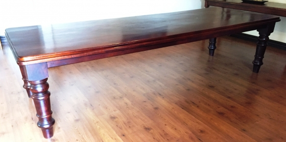 Solid Mahogany Table