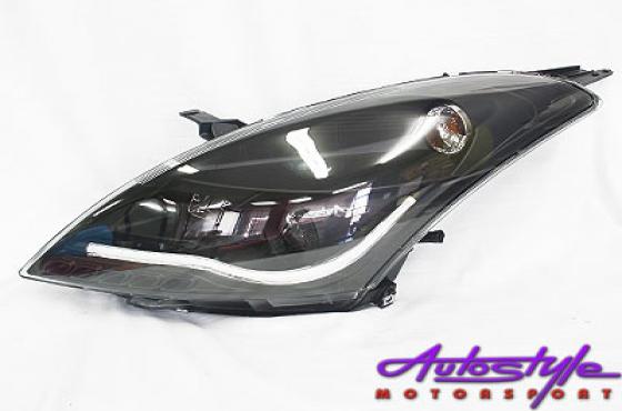 Suzuki Swift 2014 Black DRL Headlights (pair)